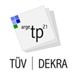 TÜV | DEKRA arge tp 21 - Logo